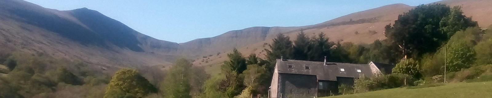 Brecon Beacons Skyline